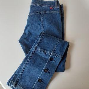 Levi's Vintage 70's style button bottom jeans